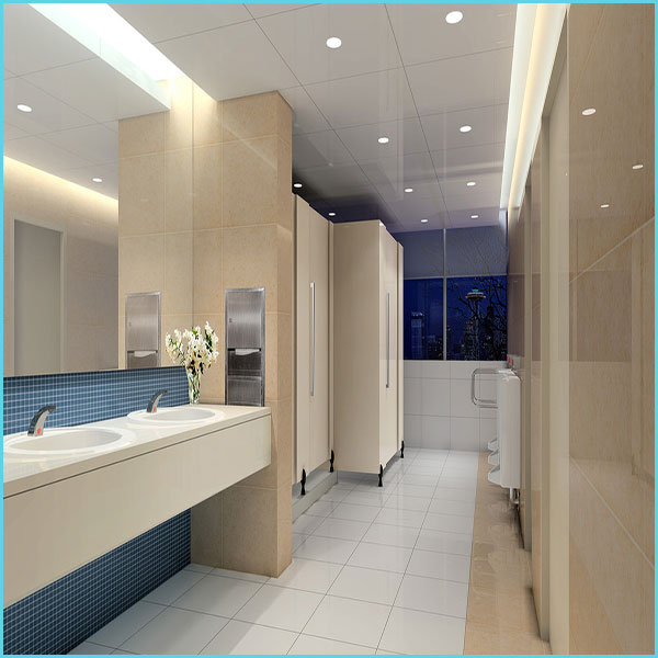 HPL Laminate Toilet Cubicles