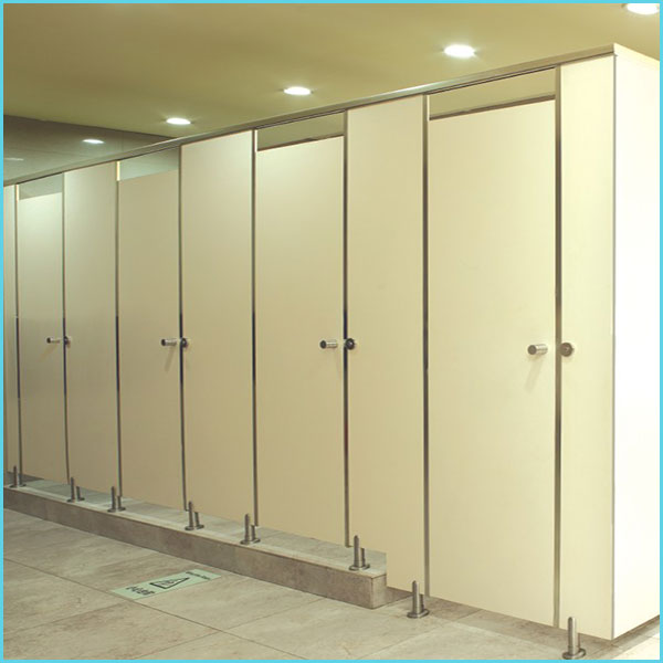 HPL Toilet Cubicle Partition System