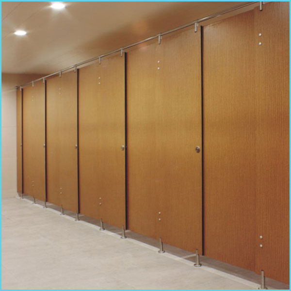 toilet cubicle partition material