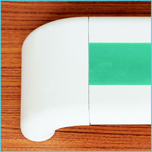 nylon plastic pvc wall mounted safety handrail