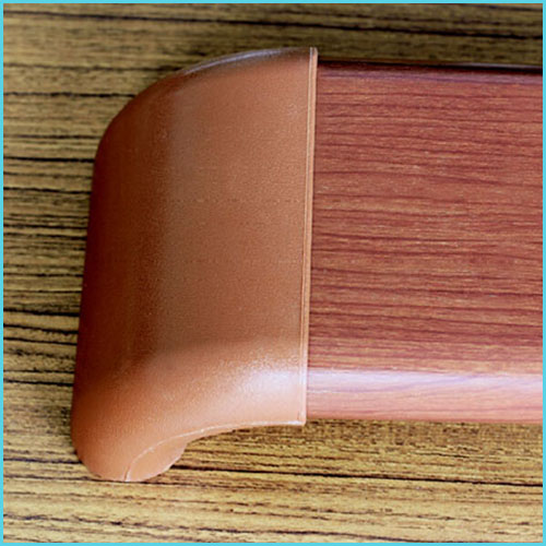 nylon plastic pvc wall mounted medical handrail