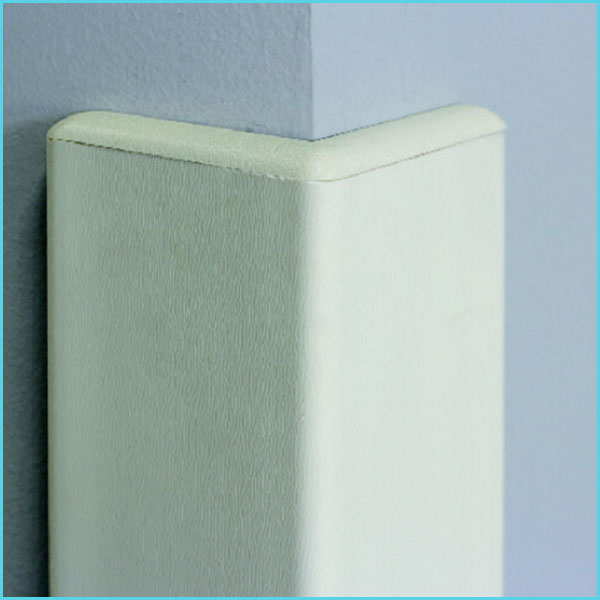 nylon plastic pvc rubber wall corner protector for hospital school hotel