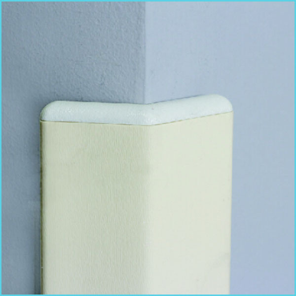 nylon plastic pvc rubber wall corner protection for hospital school hotel