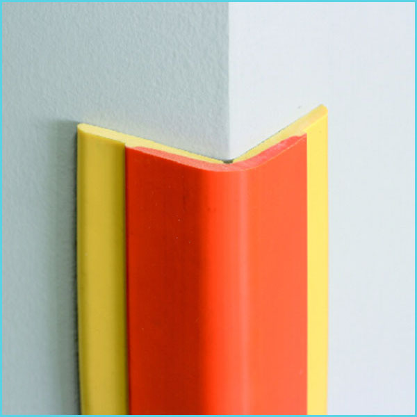 nylon plastic pvc rubber wall edge protection for hospital school hotel