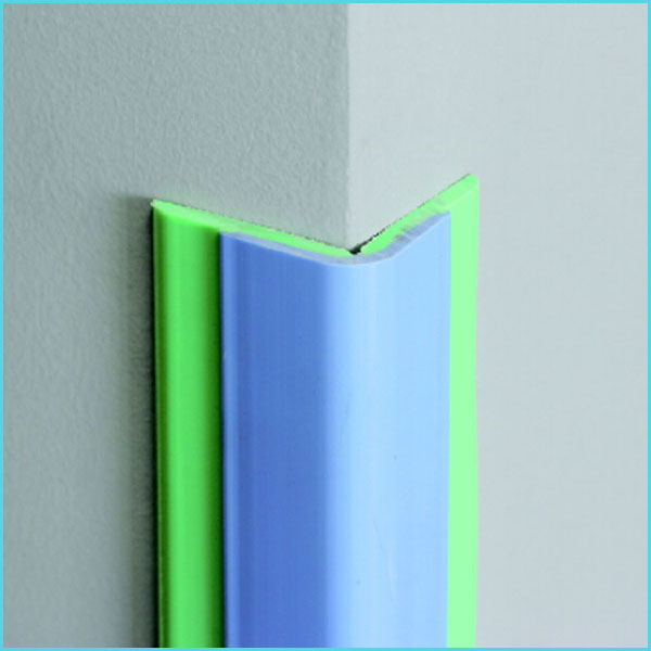 nylon plastic pvc wall corner guard for hospital school hotel