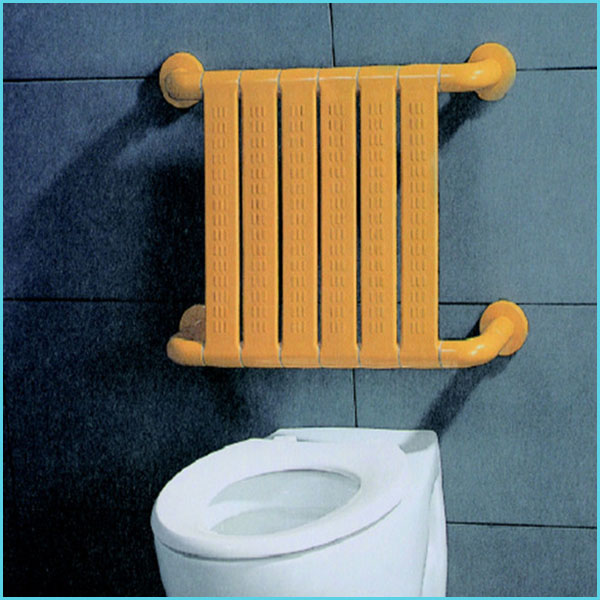 nylon plastic ABS hospital bathroom toilet shower room disabled wall mounted folding chairs