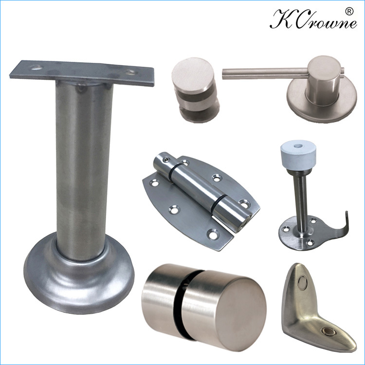 304 Stainless Steel Toilet Cubicle Partition Washroom Hardware Accessories Fittings